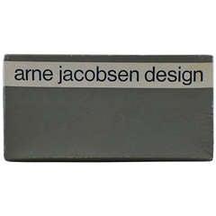 Pair of Rare Arne Jacobsen Design Women's Shoes, Original Box, 1960s
