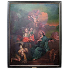 Oil On Canvas. Old Master, South-german Master App. 1780s.