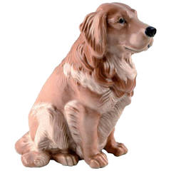 Royal Copenhagen Number 5136 Golden Retriever