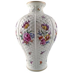 Large Vienna Vase in Porcelain