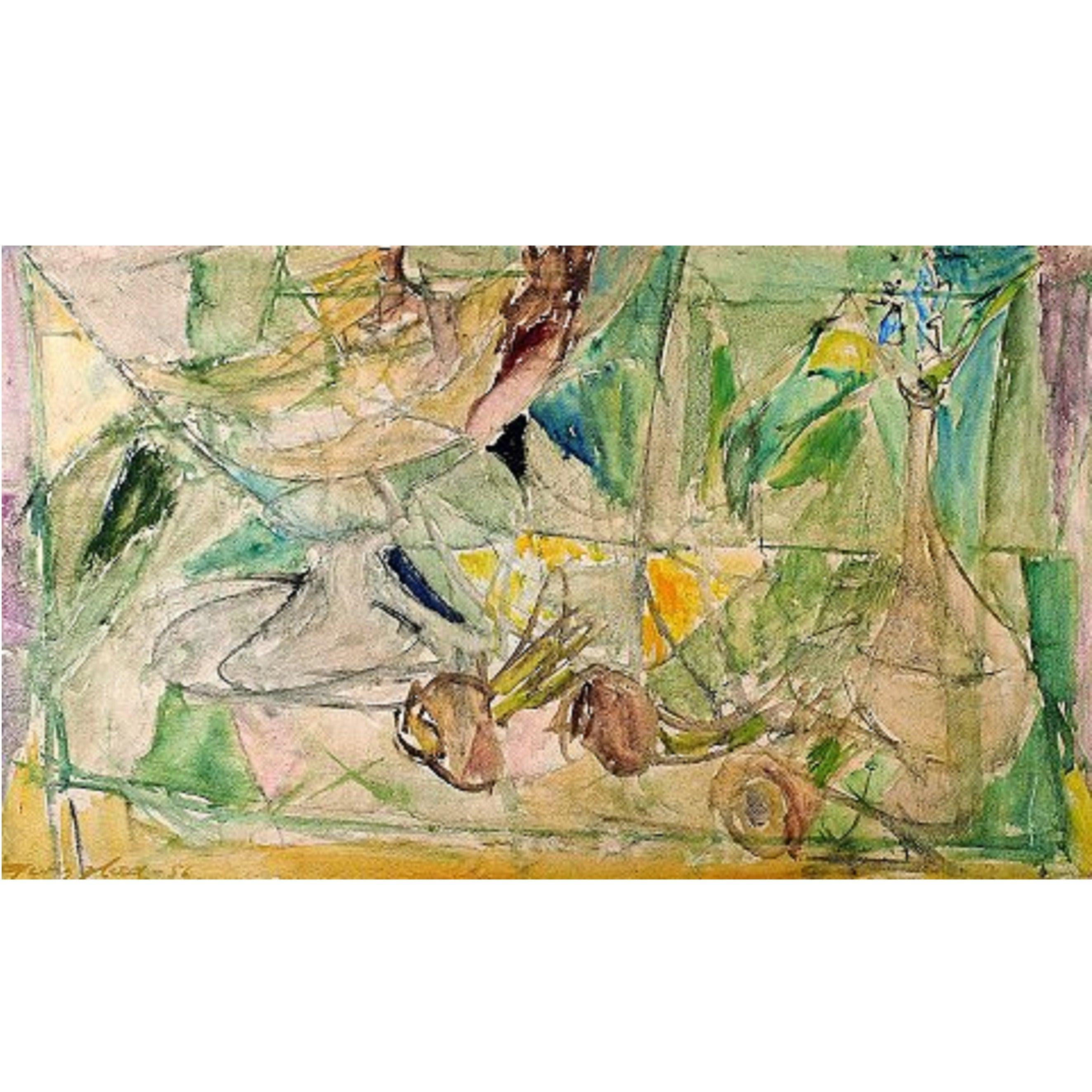 Georg Glud Still Life Oil on Canvas