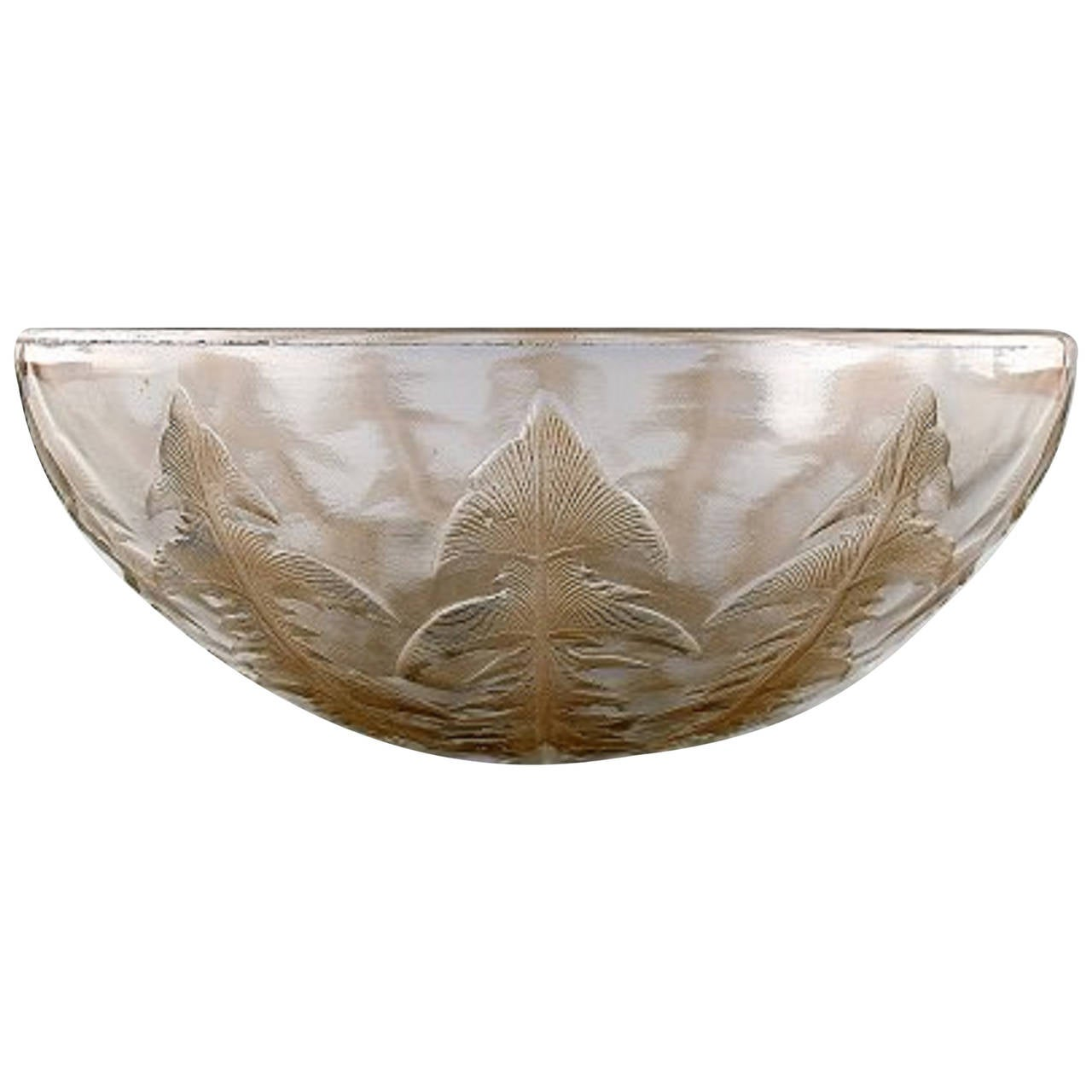 early deco lalique glass bowl at 1stdibs
