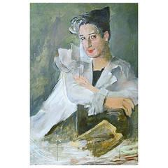 Georg Walter Rössner, Portrait of Mrs. Yvonne Santiago