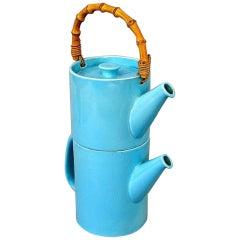 "Rare Two-Piece Teapot, ""La Colorado"" Design Stig Lindberg, Gustavsberg"
