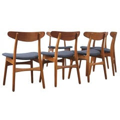 Hans Wegner CH30 Chairs