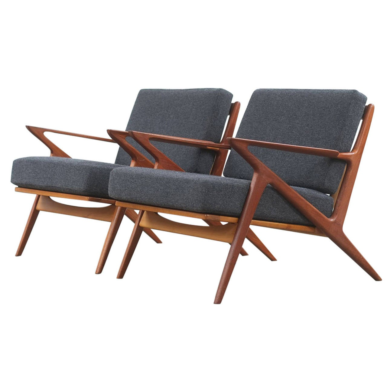 Poul jensen z chairs at 1stdibs for Poul jensen z chair