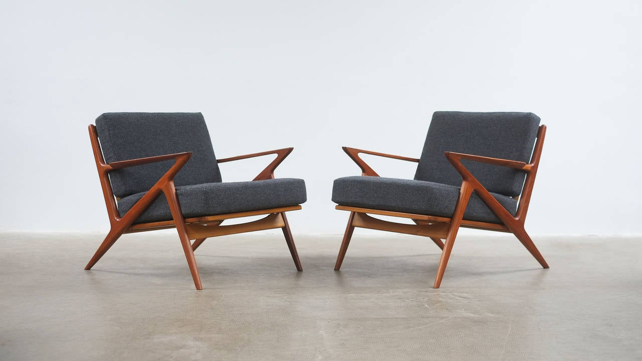 Etonnant Danish Poul Jensen Z Chairs For Sale