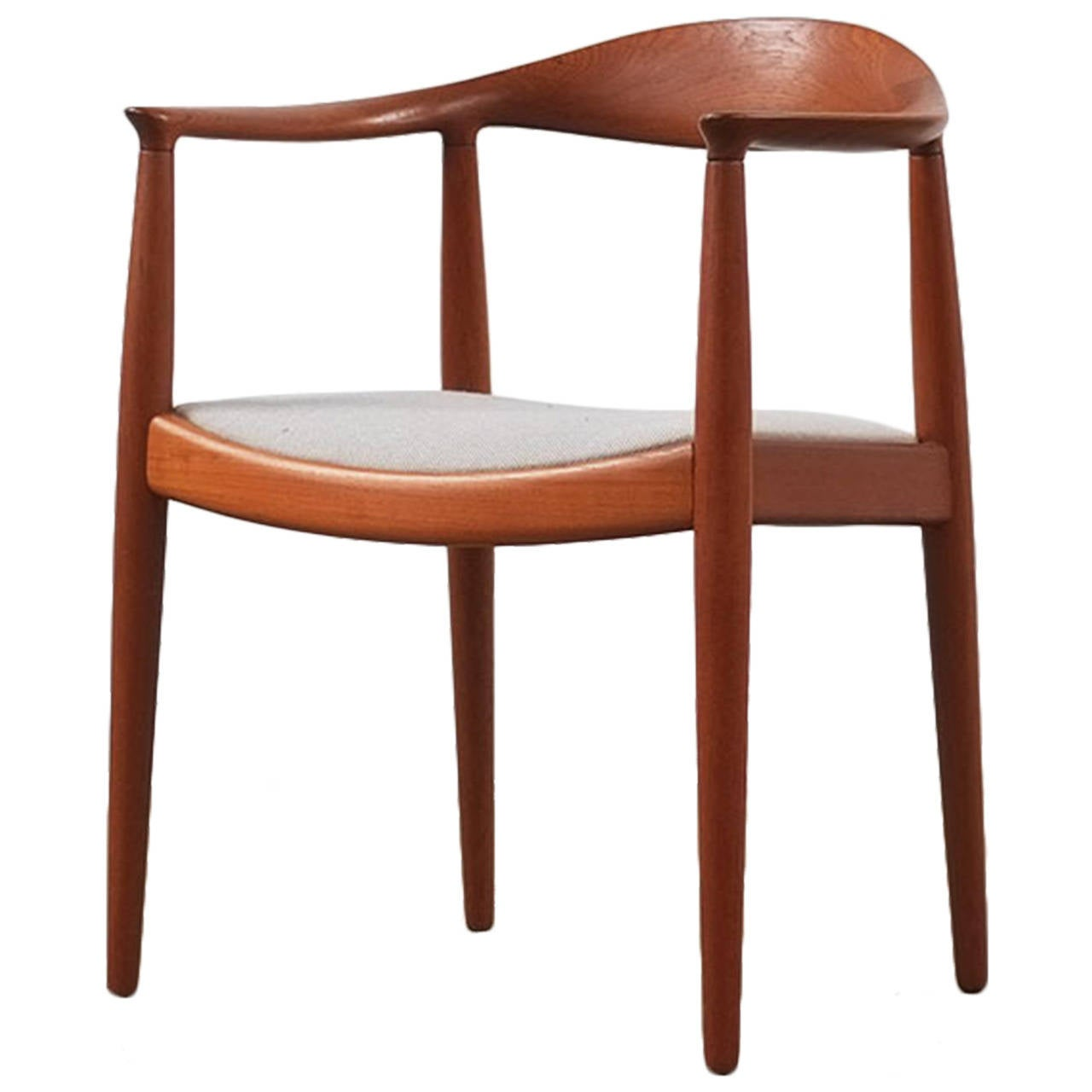 hans wegner round chair at 1stdibs. Black Bedroom Furniture Sets. Home Design Ideas