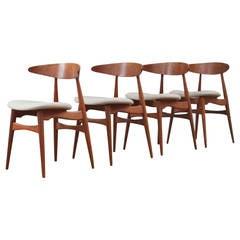 Hans Wegner CH33 Chairs