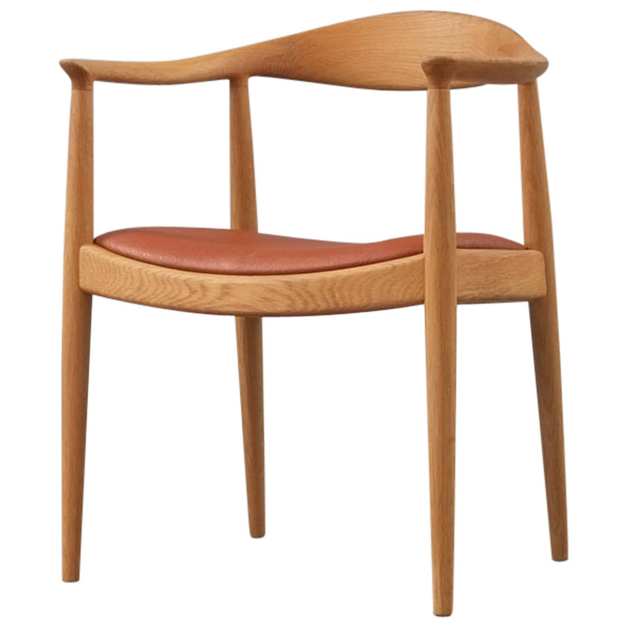 Round Chairs For Sale: Hans Wegner Round Chair At 1stdibs