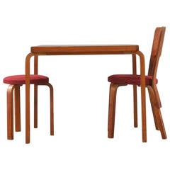 Alvar Aalto Table and Chairs