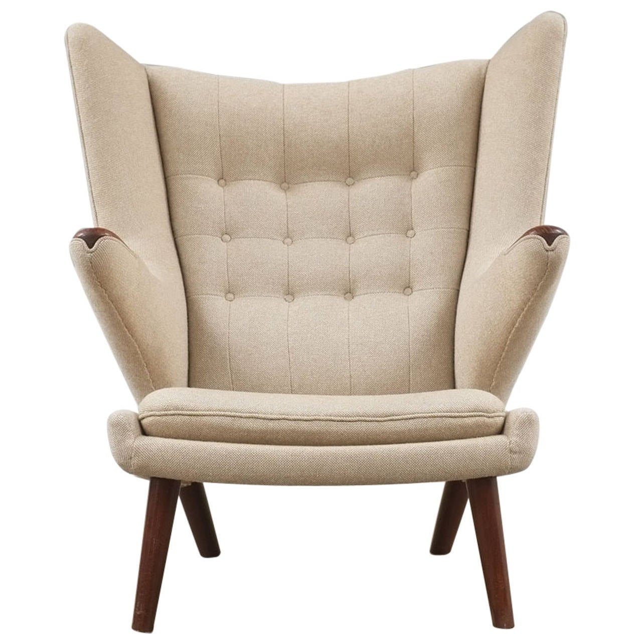 Superb Hans Wegner Papa Bear Chair 1