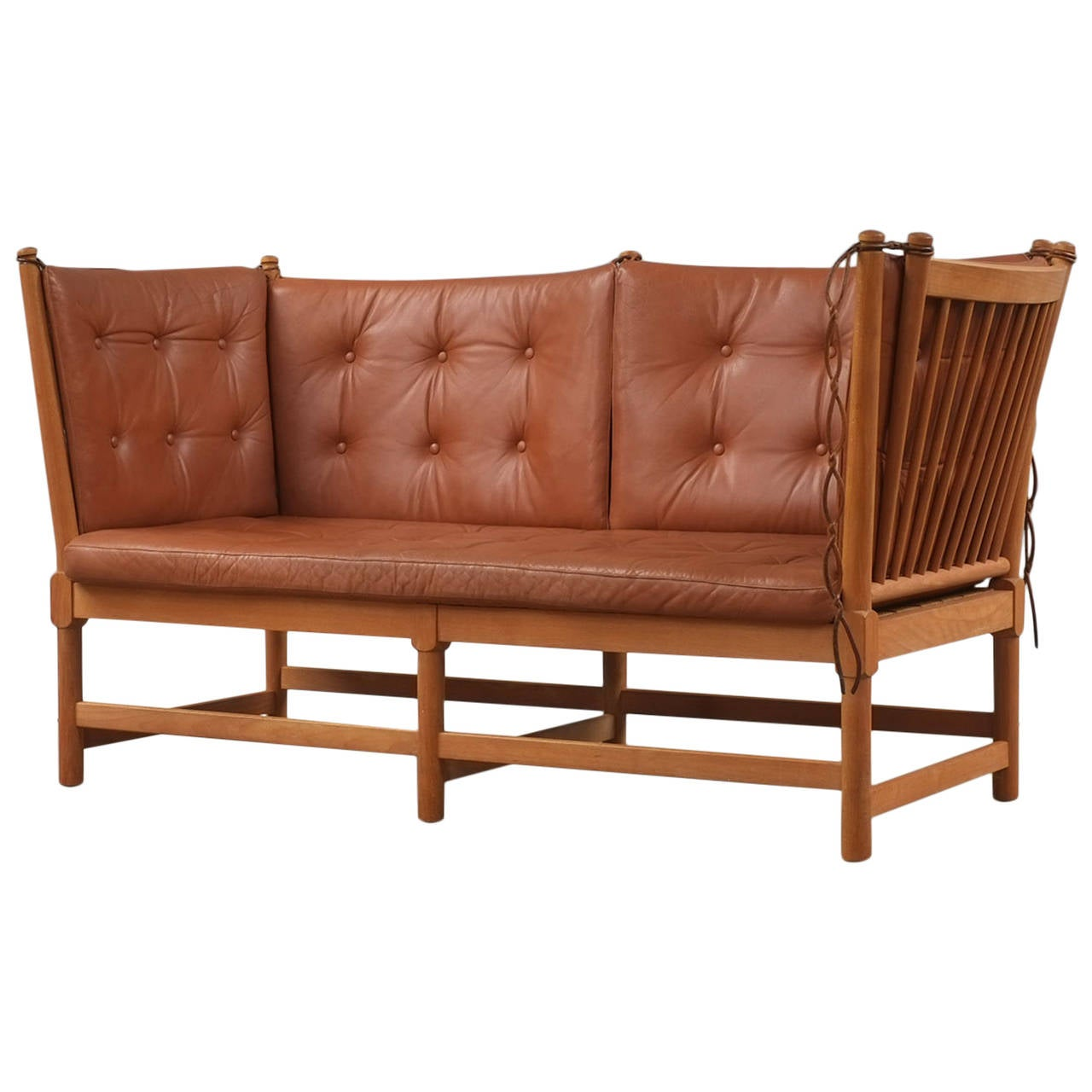 Børge Mogensen Spokeback Sofa For