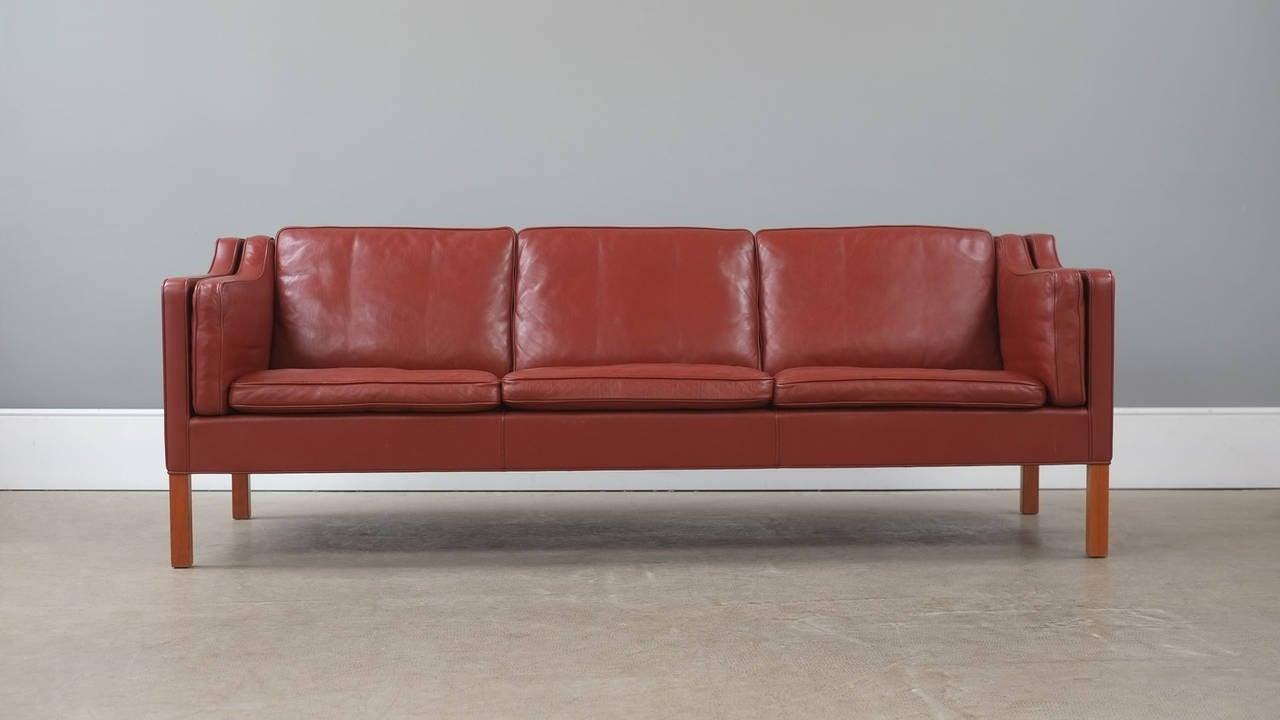 b rge mogensen 2213 sofa at 1stdibs. Black Bedroom Furniture Sets. Home Design Ideas