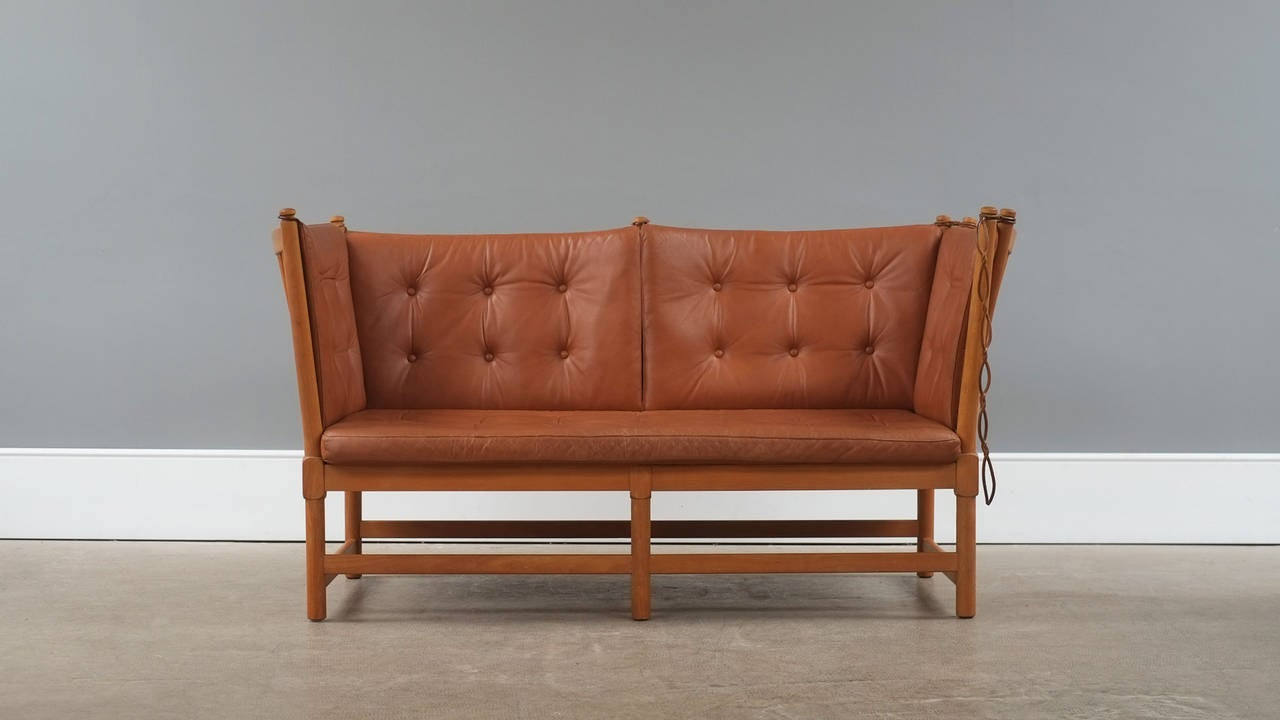 B rge mogensen spokeback sofa at 1stdibs for Sofa en l liquidation
