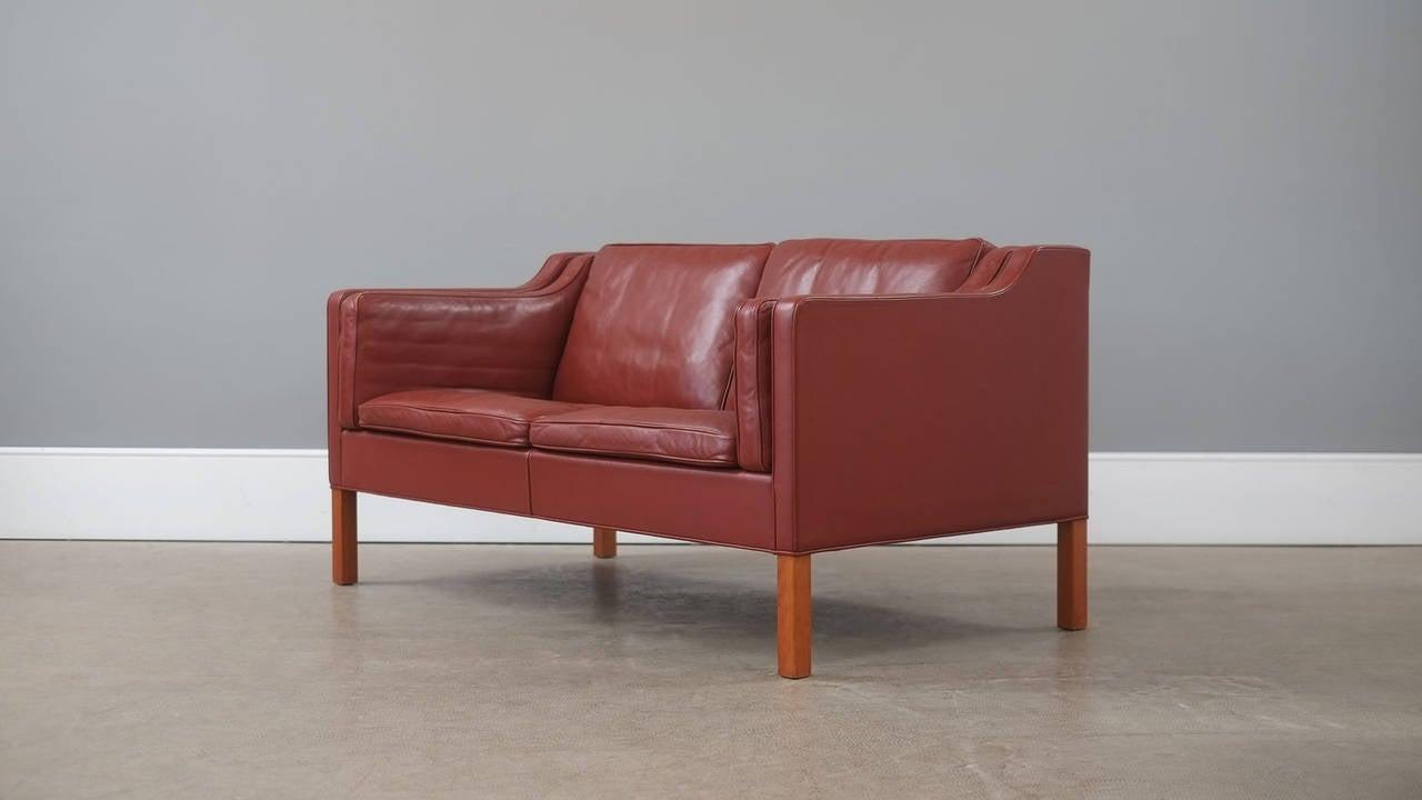 b rge mogensen 2212 sofa at 1stdibs. Black Bedroom Furniture Sets. Home Design Ideas