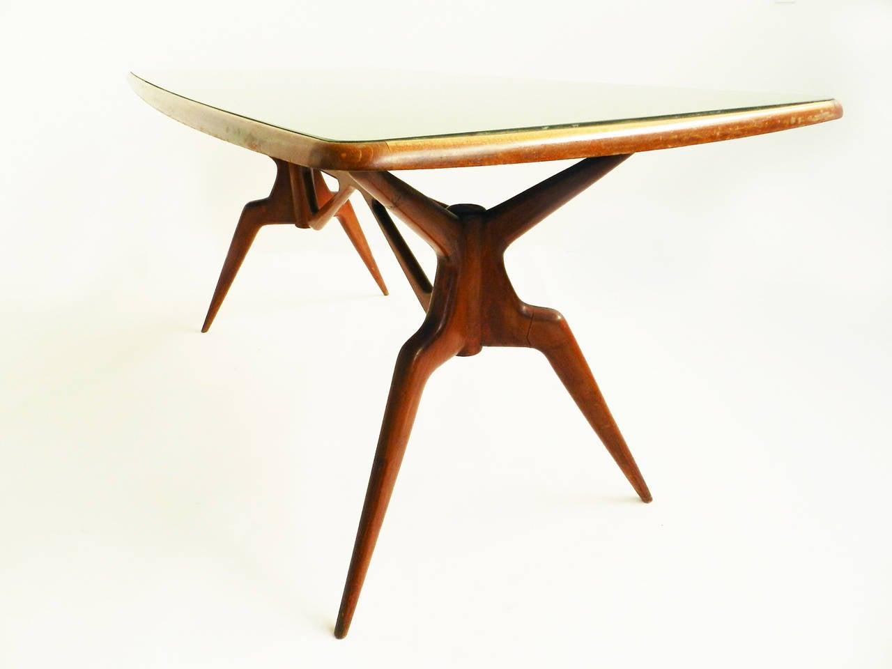 rare dining table attributed to ico parisi ariberto colombo 1950