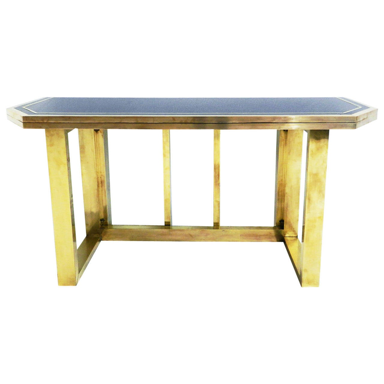 console or pliable table in the style of tommaso barbi at
