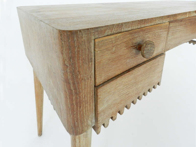 Mid-20th Century Small Desk Attributed to Jean Royère For Sale