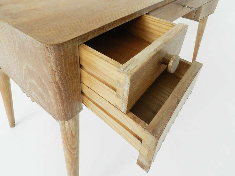 Small Desk Attributed to Jean Royère For Sale 1