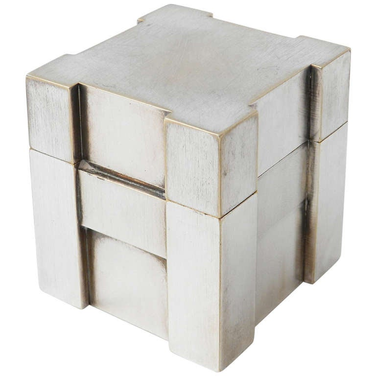 herm 233 s silver table lighter at 1stdibs 10420 | 1166170 l