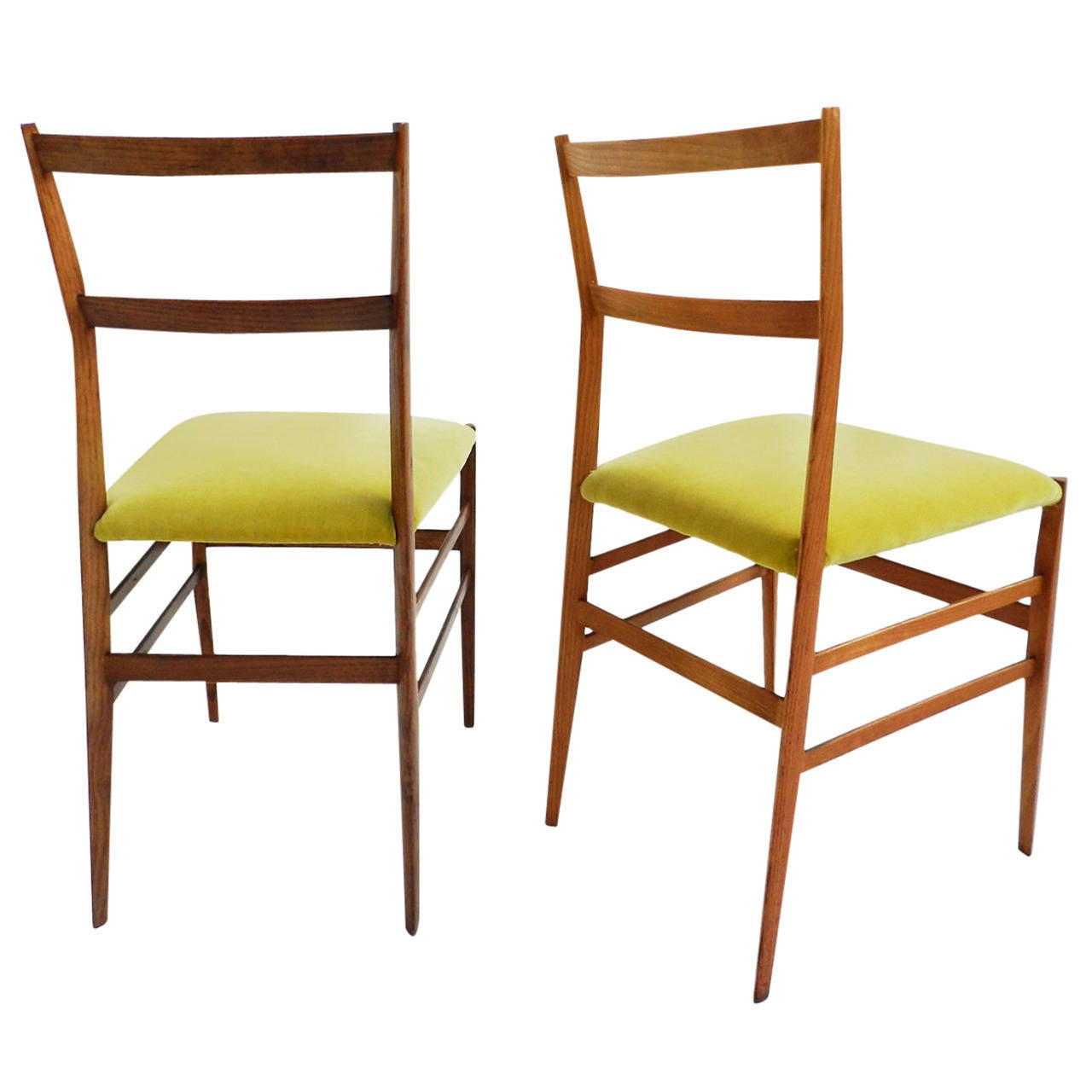 Gio Ponti Chairs Mod. Superleggera 1