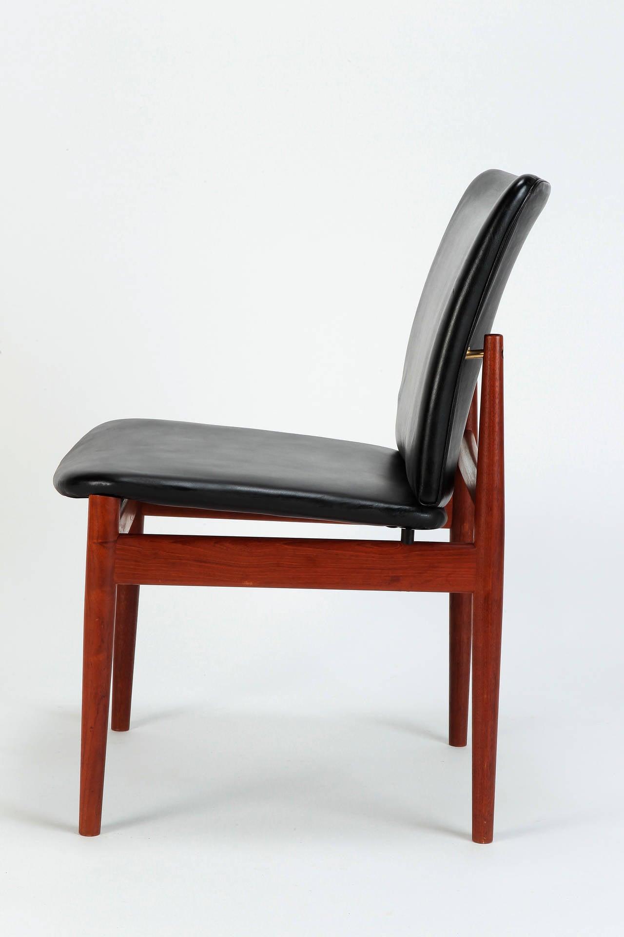 Danish Teak Leather Chair Model 191 by Finn Juhl 2Danish Teak Leather Chair Model 191 by Finn Juhl at 1stdibs. Finn Juhl Chair 108. Home Design Ideas