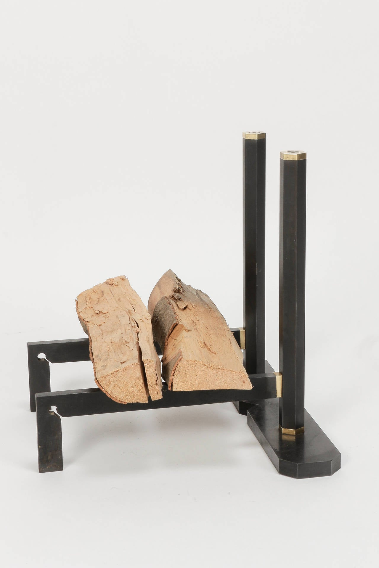 Italian Fireplace Set By Tobia And Afra Scarpa Carrier At