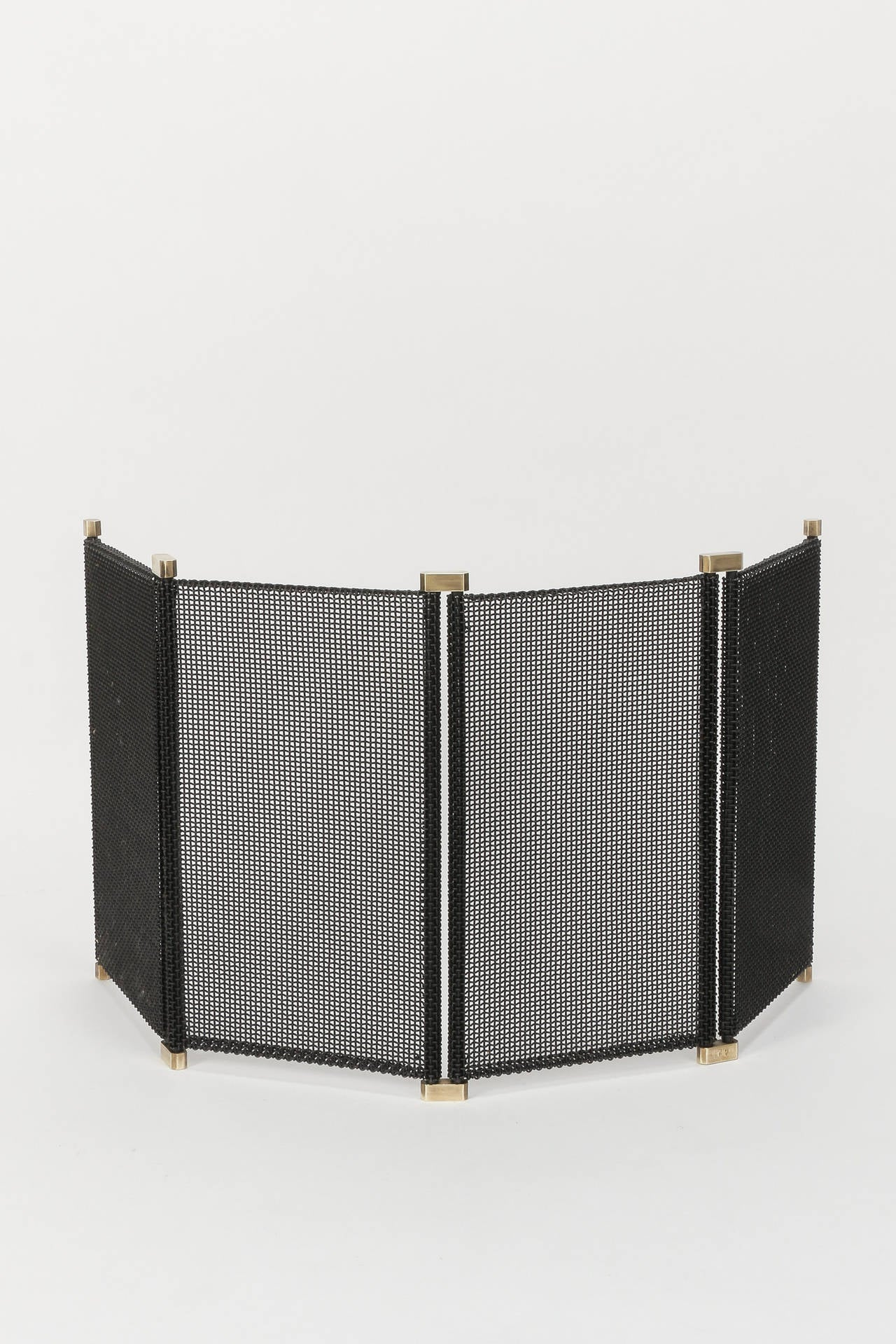 Italian Fireplace Set by Tobia and Afra Scarpa Carrier at ...