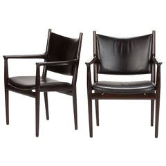Pair of Conference Chairs JH-713 by Hans Wegner
