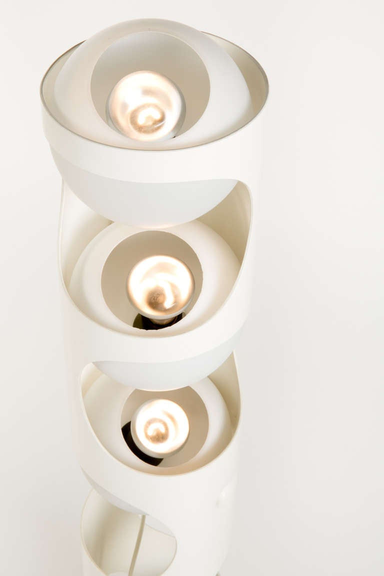 Quot Guggerli Quot Pop Art Period Floor Lamp Baltensweiler 1960s
