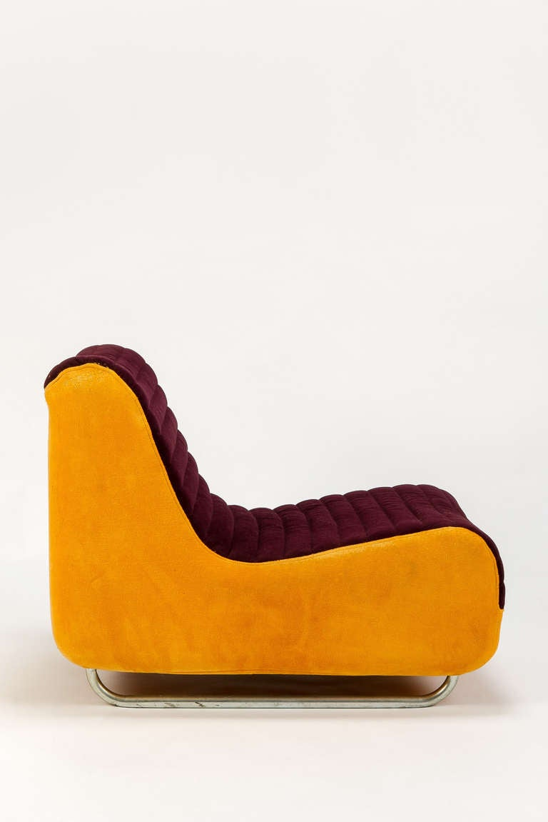 Funky Lounge Chair F Range By Rodney Kinsman 1970 At 1stdibs