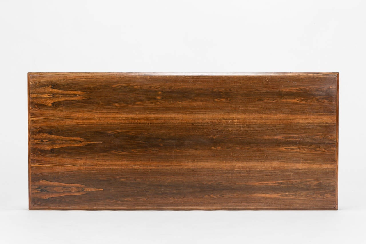 Danish Rosewood Coffee Table by Johannes Andersen Silkeborg, 1960s For Sale 1
