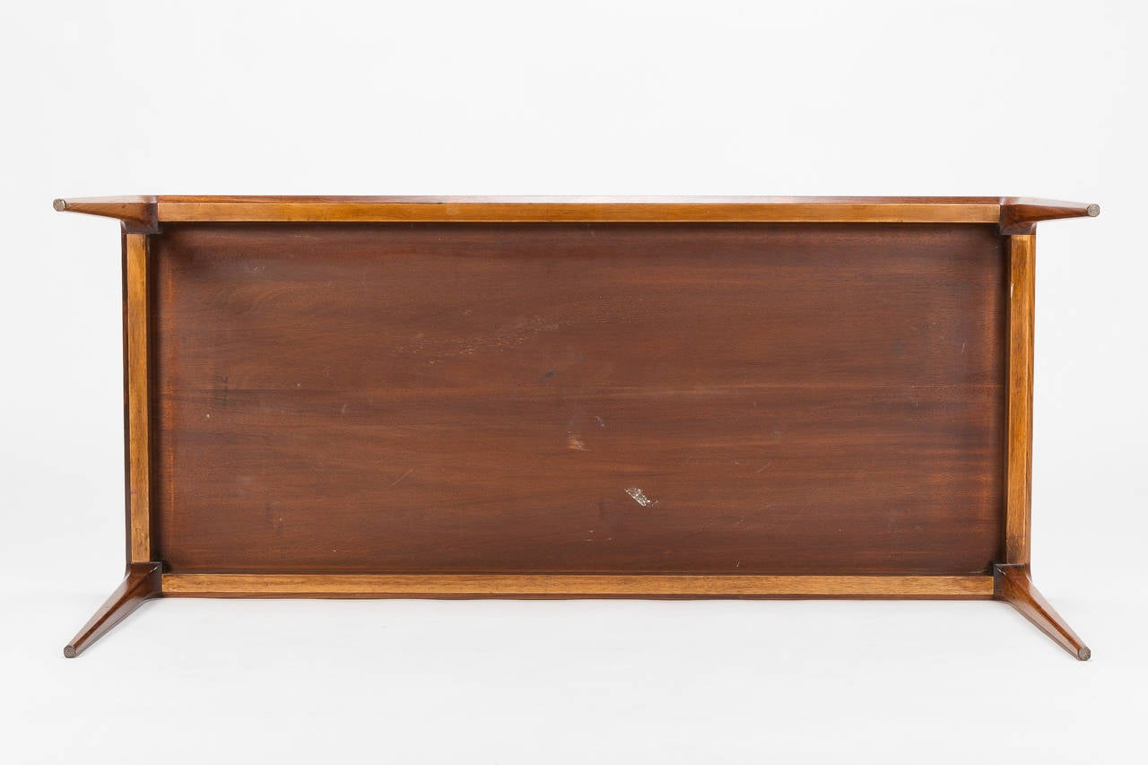 Danish Rosewood Coffee Table by Johannes Andersen Silkeborg, 1960s For Sale 5