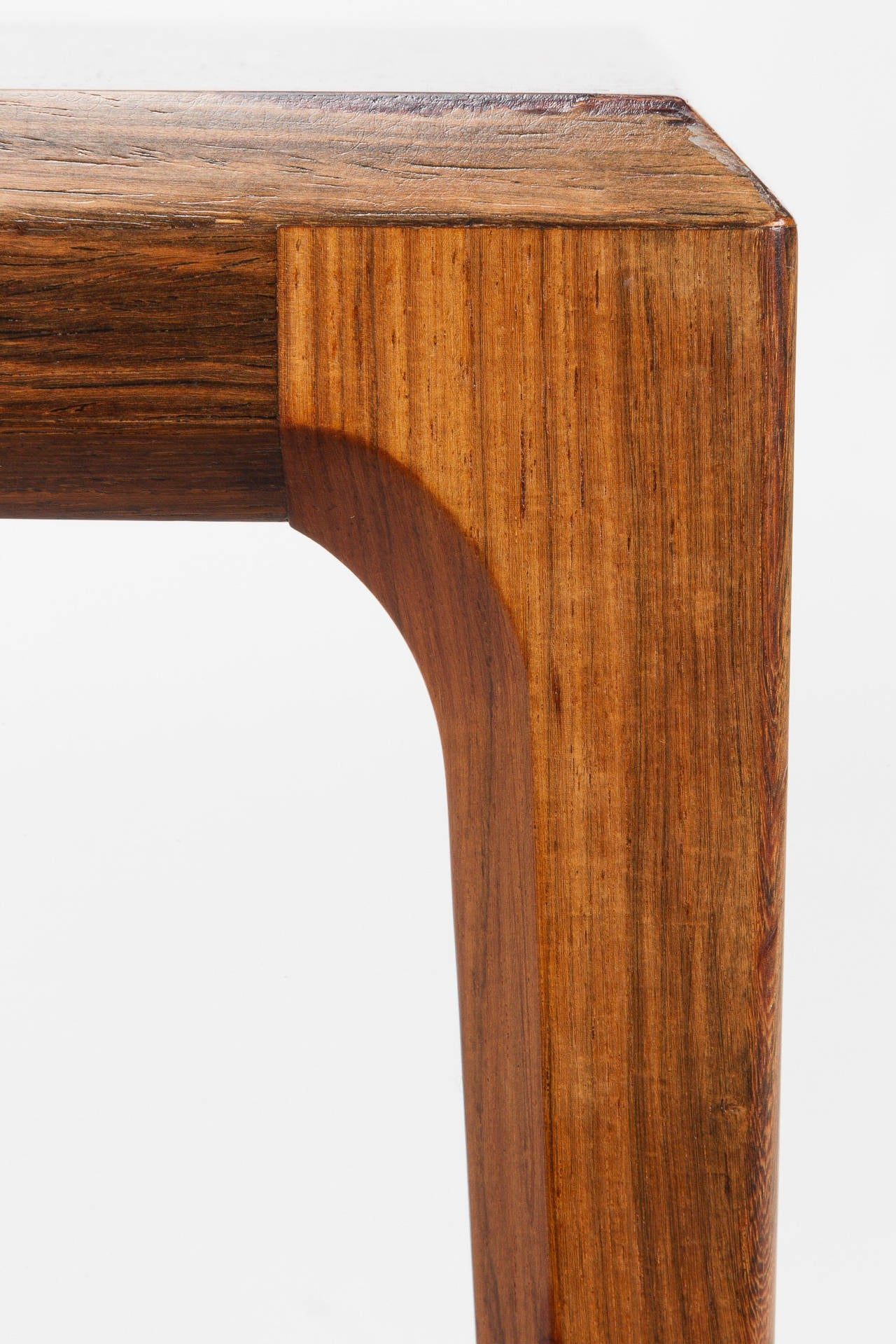 Danish Rosewood Coffee Table by Johannes Andersen Silkeborg, 1960s For Sale 3