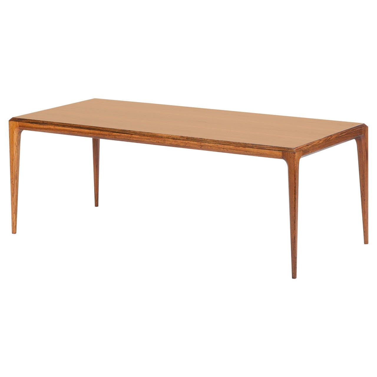 Danish Rosewood Coffee Table by Johannes Andersen Silkeborg, 1960s