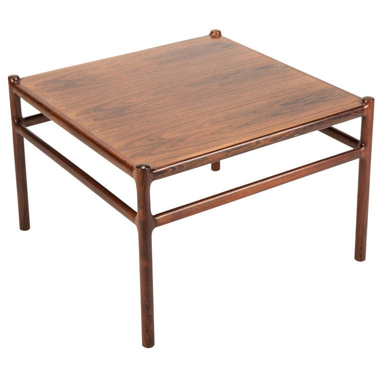 Danish Rosewood Coffee Table By Johannes Andersen 1960s 1