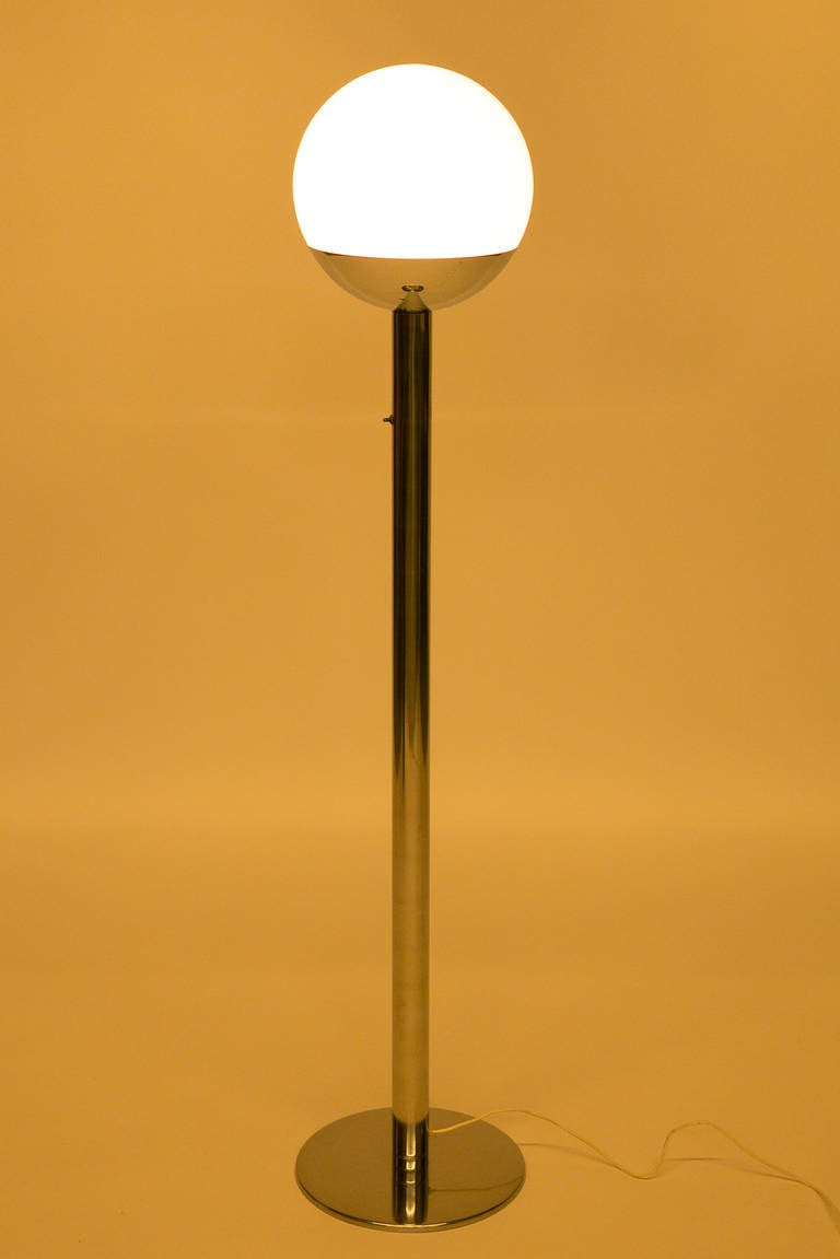 Italian floor lamp by pia guidetti crippa for luci for 1970s floor lamps