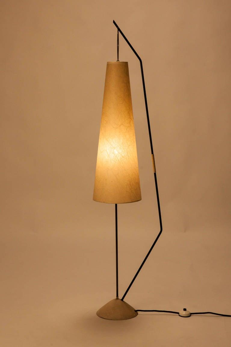 german floor lamp by kaiser at 1stdibs On german floor lamps