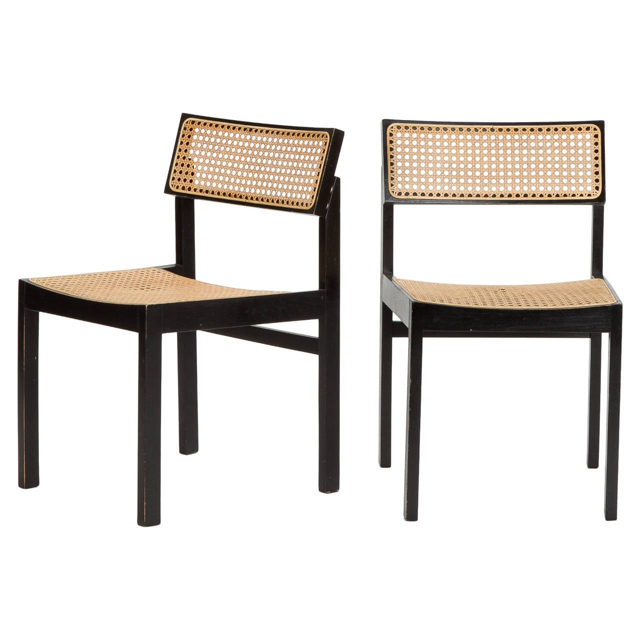 Pair of Swiss Willy Guhl Chairs for Dietiker For Sale
