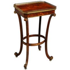 Regency Brass-Mounted Table