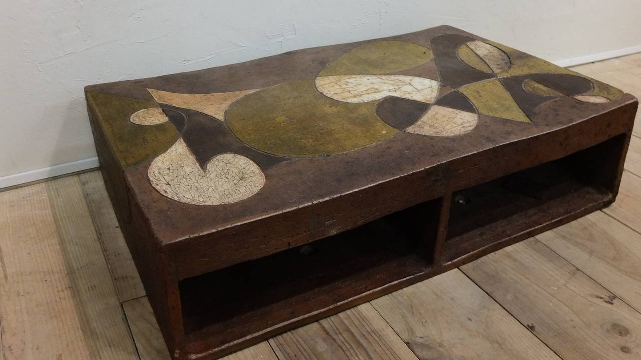 1960 Ceramic Coffee Table At 1stdibs