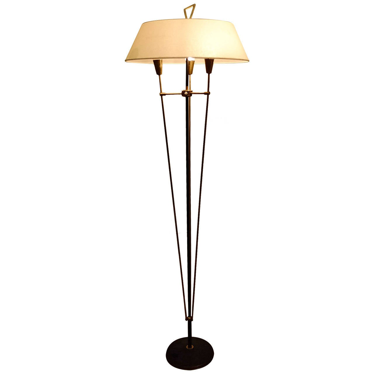maison arlus 1960 floor lamp at 1stdibs