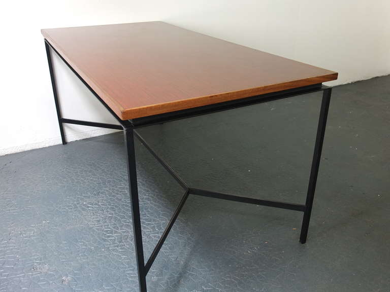 pierre paulin table edited by thonet at 1stdibs. Black Bedroom Furniture Sets. Home Design Ideas