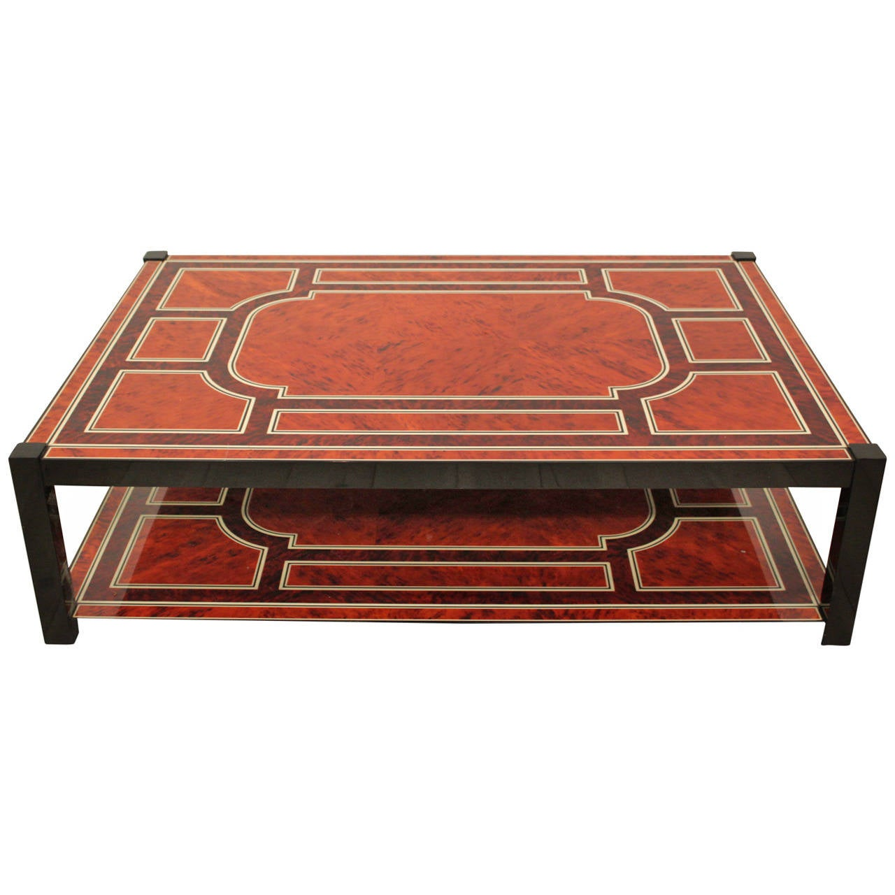 1970 Beautiful Large Coffee Table At 1stdibs