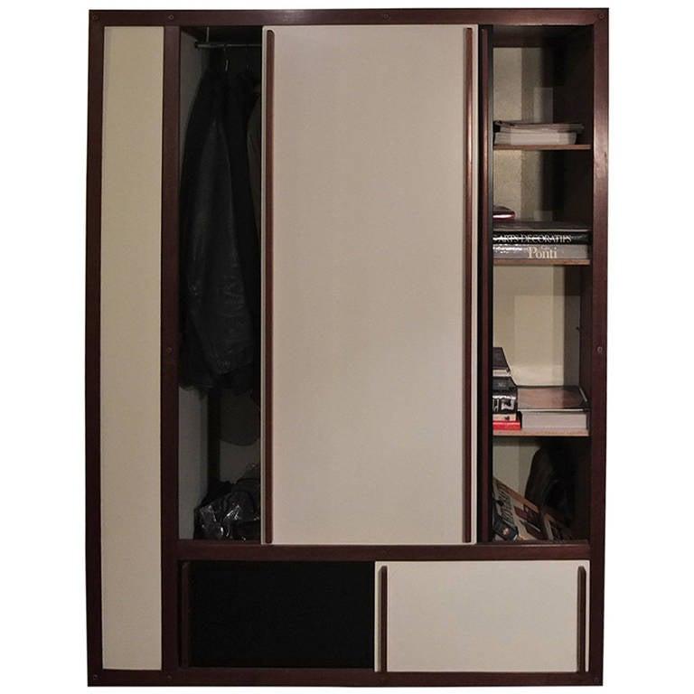 1960 andr sornay bookshelf and dressing at 1stdibs. Black Bedroom Furniture Sets. Home Design Ideas