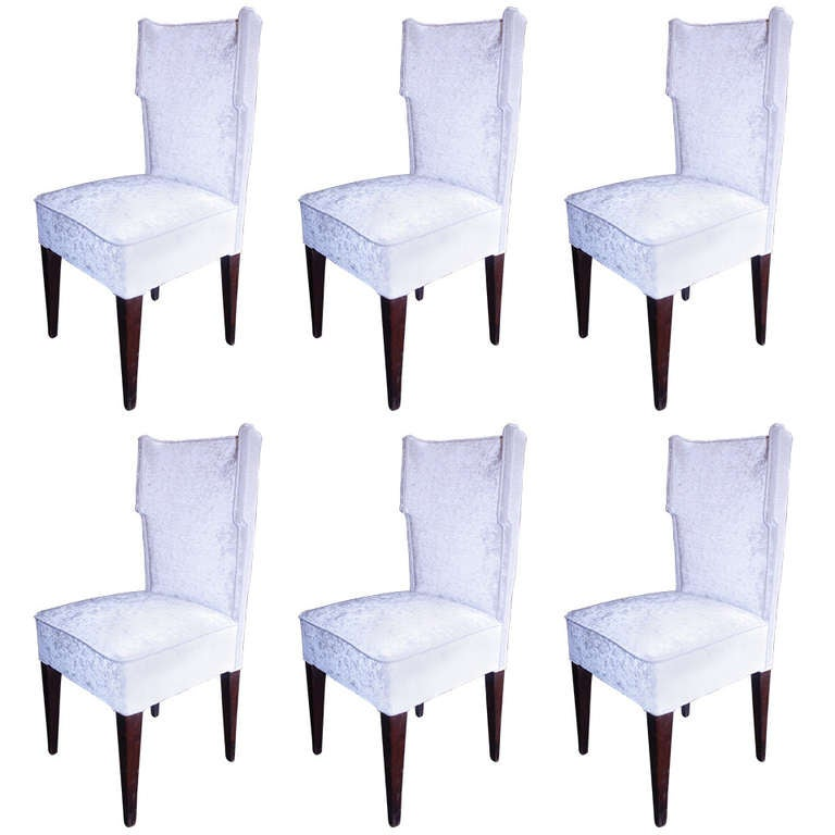 Set of Six 1950s Dining Chairs