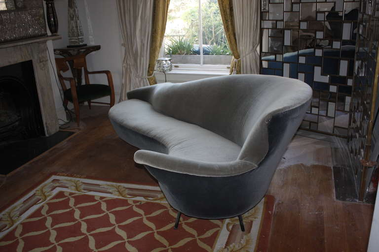 Rare Italian Sofa by Rava, 1950s 3