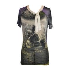 Jean Paul Gaultier Maille 'Tie Neck' Top