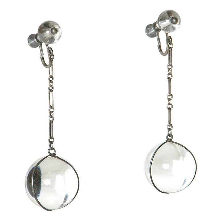 """Pools of Light"" Earrings For Sale"